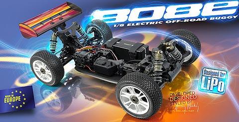 XRAY XB808E 2010 Spec Luxury 1/8 Buggy Kit Show