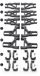 New Xray # 303159 ~ Rear Lower Short Suspension Arm for C Hub for T1