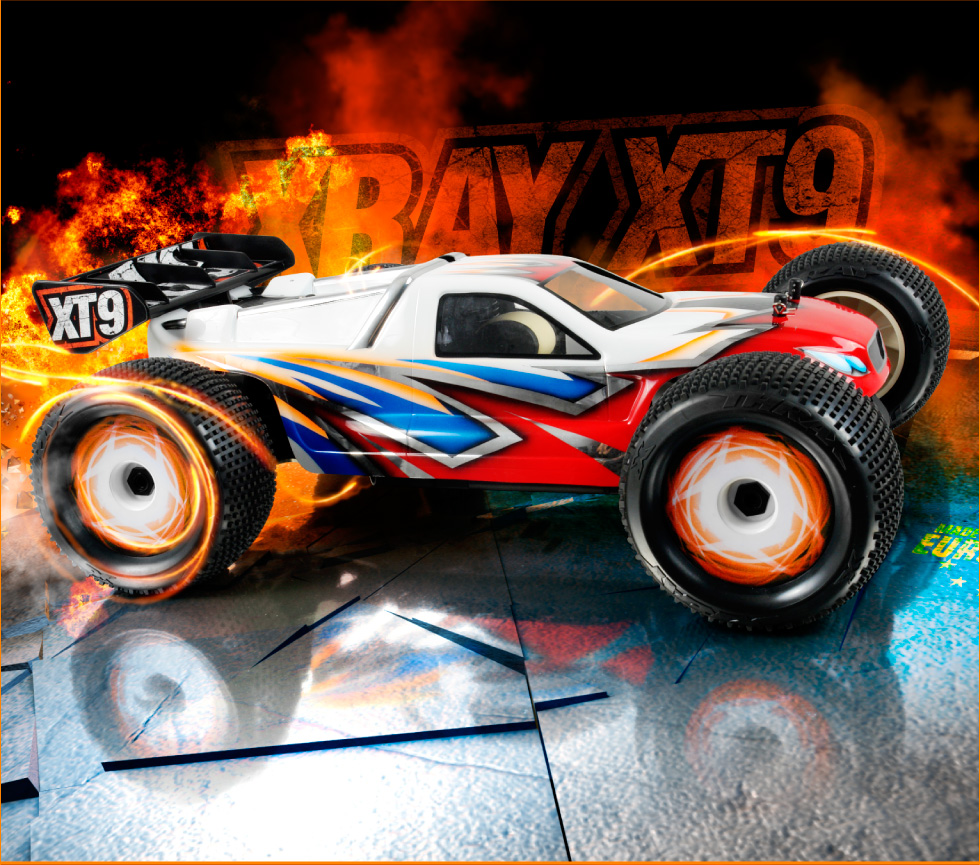 X-ray Model Racing Car